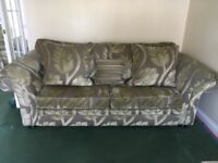 3 Seater Sofa and Large Armchair - FREE Local Delivery