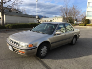 Superb 1992 Honda Accord Sedan