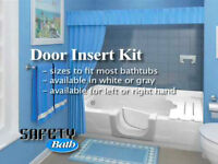 Bathroom renovations / Walk-in Tub & tub to shower conversions