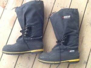 Winter safety boots.
