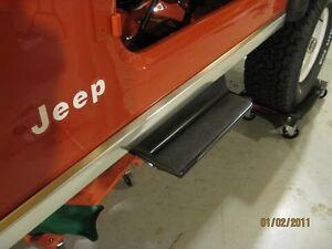 Jeep CJ Side Steps