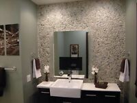 10 x boxes fired earth pebble tiles fabulous when up