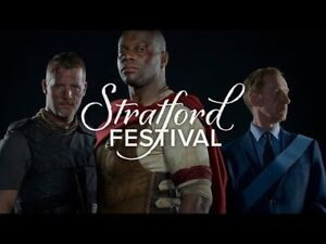 2 or 4 tickets to Coriolanus at Stratford festival