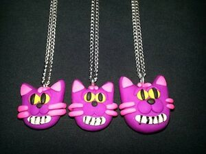 Soot Gremlin and Cheshire Cat Necklaces