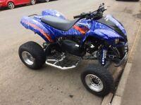 Kawasaki KFX 700 2007 road legal quad bike