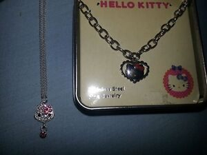 Hello Kitty stainless steel bracelet and Hello Kitty necklace