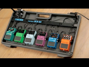 Wanted  =  Guitar pedal board