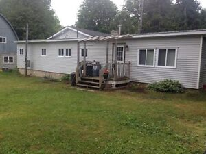 Two bedroom home on 100 acres for rent