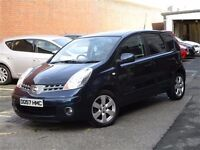Immaculate late 2007 Nissan Note 1.6 Tenka 5dr mpv trade in considered, credit cards accepted