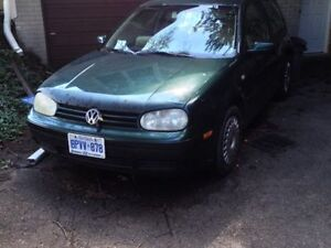 2000 TDI GOLF - FOR PARTS