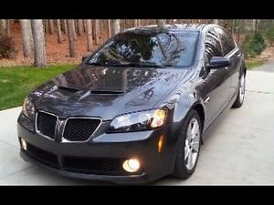 2009 Pontiac G8 WITH SAFETY EMISS SHOWROOM CONDITION