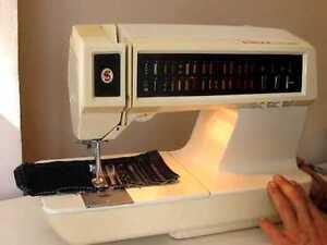 Memory 30 Stitch Sewing Machine c/w Button Hole Attachment