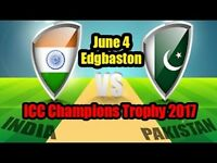 Pakistan vs india 2017 champion trophy tickets available