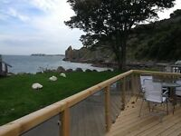 Luxury front row caravan to rent at Lydstep Tenby 6th August