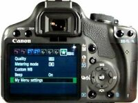 CANON EOS 500D WITH LENS AND CHARGER QUICK SALE MUST GO