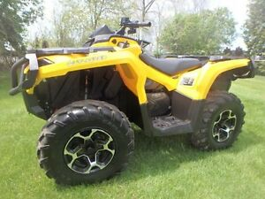2013 CAN AM OUTLANDER 650XT