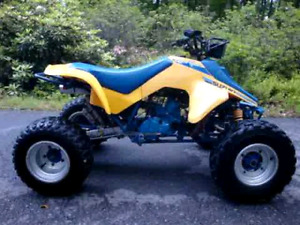 WANTED 1987/91 SUZUKI LT250r QUAD RACER PROJECT  WANTED