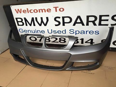 BMW E90 E91 SPORT FRONT BUMPER IN GREY LCI BREAKING 1 3 5 6 7 SERIES