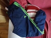 Boys Adidas sports bottoms - age 14-15 years