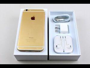 128 GB unlocked- iphone 6s Gold London Ontario image 2