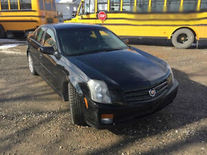 2007 Black Cadillac CTS Luxury Cruiser Fully Inspected