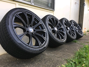 BMW rims and tyres cheap Carramar Fairfield Area Preview