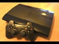 Playstation 3 ps3 super slim version 500gb,and 1 controller