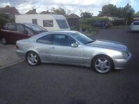 2001 Mercedes 200 CLK