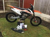 KTM 250 SXF 2017 MOTOCROSS BIKE NOT 450 YZF CRF KXF 125