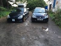 Civic type r ep3 breaking x2modds