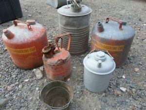 WANTED old oil and gas cans