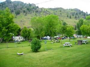 Rv spot for the summer in beautiful Midway!