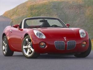 2006 Pontiac Solstice Convertible 2-Door (RED)