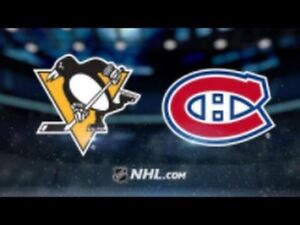 Canadiens vs Pittsburgh Penguins DESJARDINS!!! March 2nd