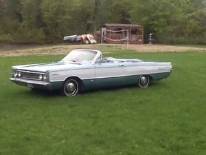 1966 Ford meteor convertible