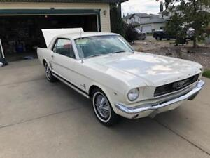 Classic 1966 Mustang