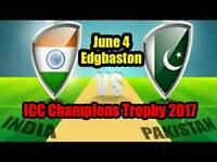 India VS Pakistan Champions Trophy