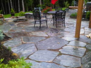 SLATE ROCK FLAGSTONE FOR SALE
