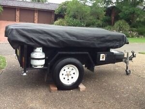 Australian made semi-off road camper trailer Glenbrook Blue Mountains Preview