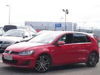 2013 GTD Volkswagen Golf, red, 186bhp