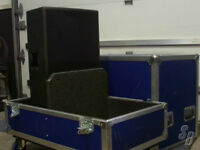 Hardshell Custom Case, Dark Blue or Black Speaker Case