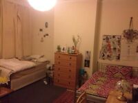 HUGE ROOM TO SHARE FOR FEMALE IN A ONE BEDROOM FLAT IN FULHAM £110 pw (bills inc)