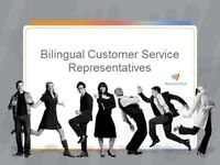 Bilingual Customer Service Opportunities - Entry Level