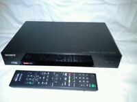 Sony Freeview 1Tb hard disc recorder