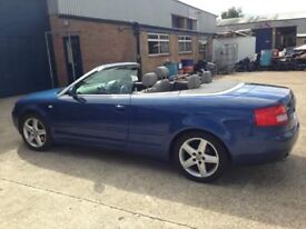 Audi A4 convertible Nice and Clean