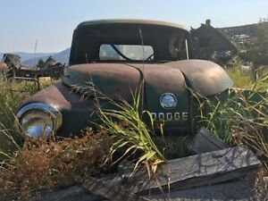 Old dodge pickup