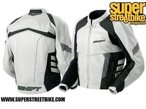 SHIFT Racing Dyer Hybrid Jacket size L silver/black Strathcona County Edmonton Area image 3