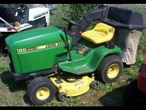 Wanted: John Deere 185 or 175 Riding Lawn Mower