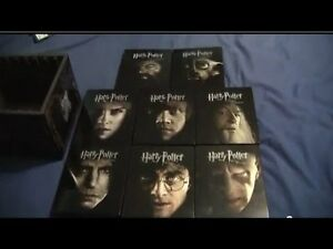 Rare Harry Potter Steelbook blu-ray collection!