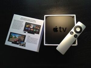 IN BOX- Apple TV and Remote